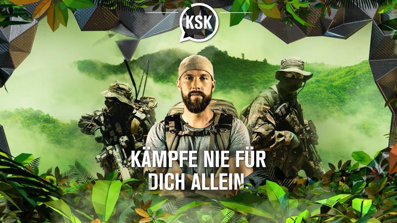 KSK- Kämpfe nie für dich allein.