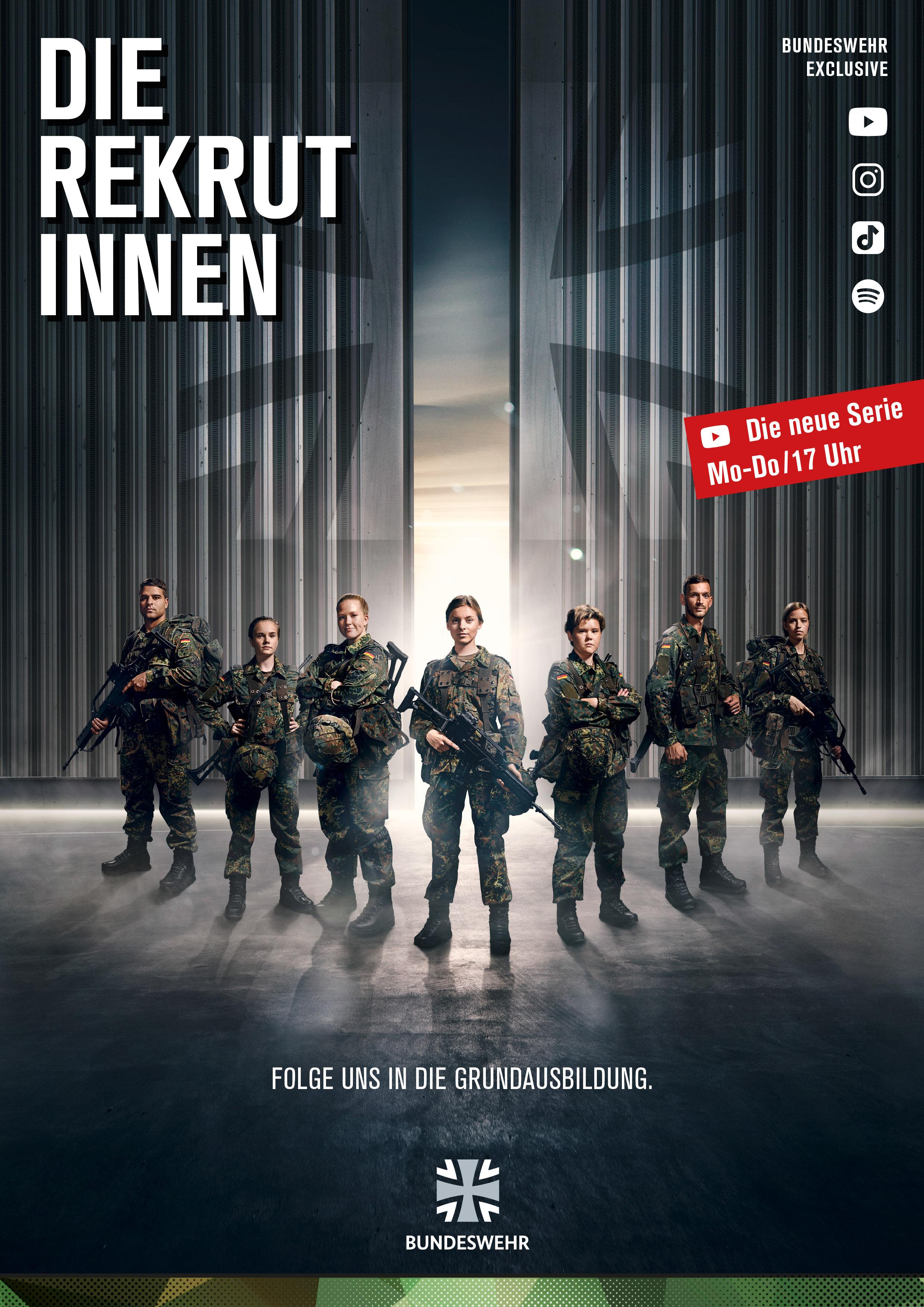"""Neue YouTube Bundeswehrserie """"DIE REKRUTINNEN"""""""
