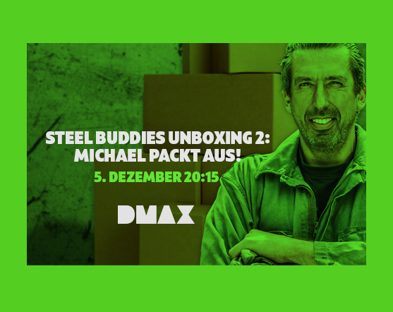 Steel Buddies Unboxing 2 – Michael packt aus